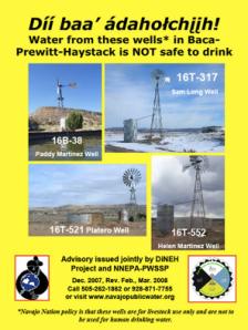Addressing Uranium Contamination on the Navajo Nation (Photo Courtesy of http://www.epa.gov/region09/superfund/navajo-nation/contaminated-water.html )