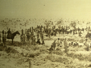 Hwééldi (Navajo Long Walk) - Navajo concentration camp called Bosque Redondo 1863-1868