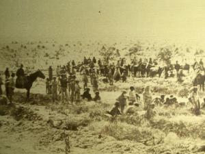 Hwééldi (Navajo Long Walk) - Navajo concentration camp called Bosque Redondo 1863-1868